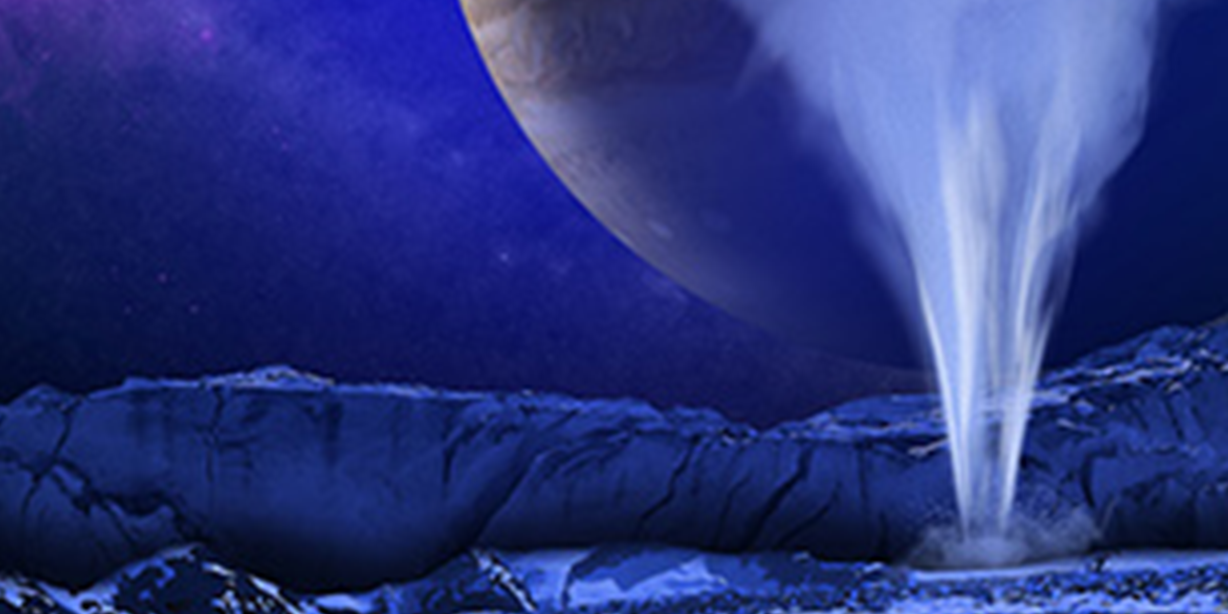 Artist's Concept of Europa Water Vapor Plume. Credit: NASA, ESA, and K. Retherford (Southwest Research Institute).