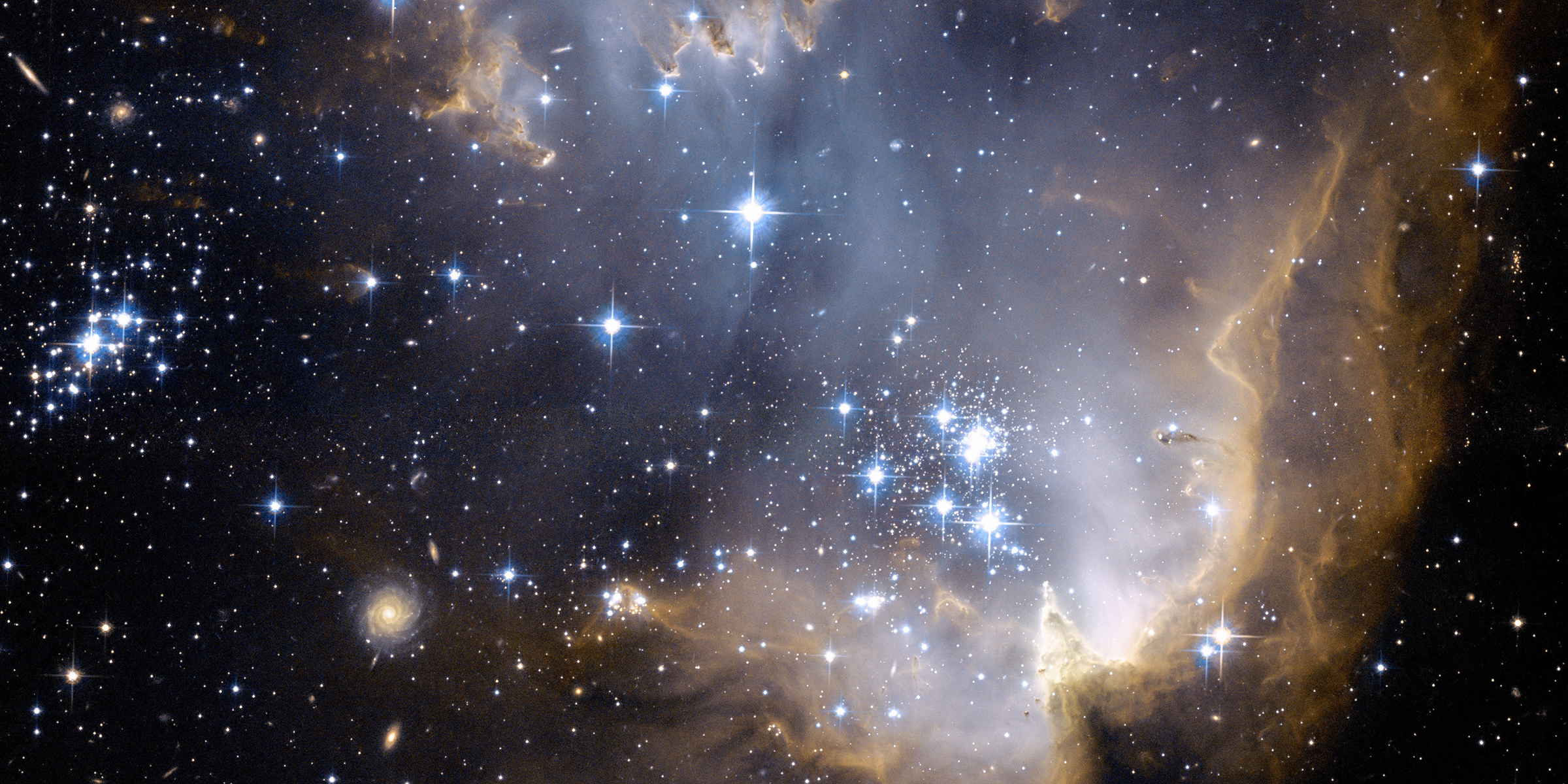 NGC 602. Credit: NASA, ESA and the Hubble Heritage Team (STScI, AURA).